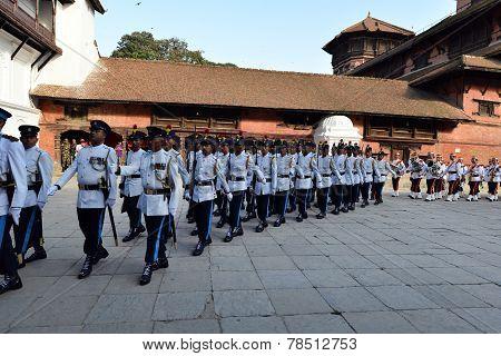Nepali Army Musicians