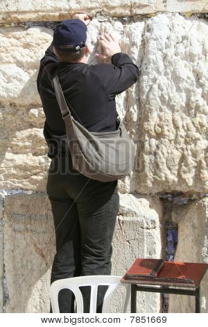 Placing a Note in the Kotel