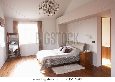 Interior Of Beautiful Contemporary Bedroom