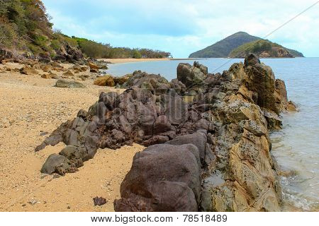 Rocky Boulder Beach and Islands