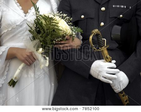 Officer & Bride