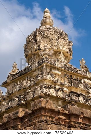 an ancient hindu temple in kancheepuram india