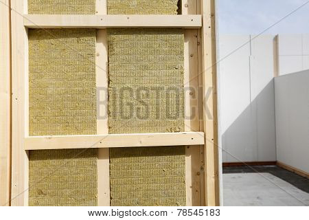 Insulated Frame For Prefabricated House