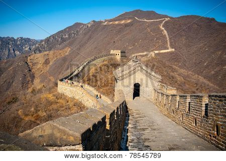 Great Wall Tower High Angle