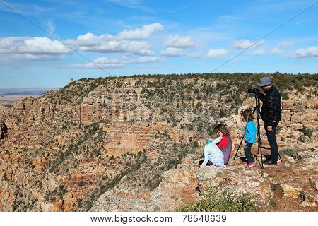 Grand Canyon Visitors