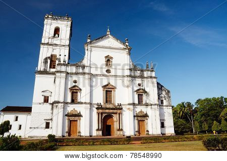 Church Of St. Francis Of Assisi In Old Goa, India, unesco heritage