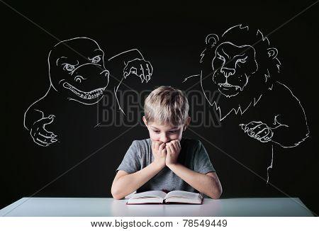 Scared Boy