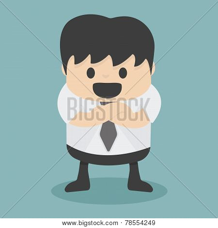 Businessman With Folded Arms