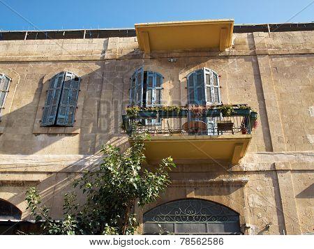Romantic Mediterranean European Style Classical Balcony