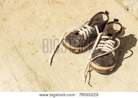 Old Canvas Shoes