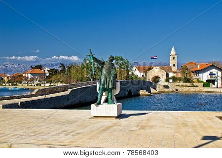 Dalmatian Town Of Nin Entrance