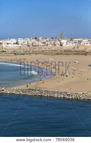 Beach In Rabat, Morocco