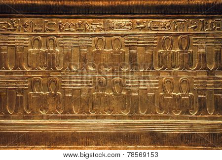 Objects From The Thomb Of Tutankhamen