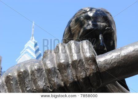 Estátua de trabalho