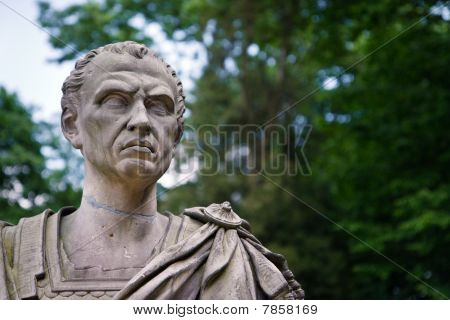 Julius Caesar Portrait - Bust Of Roman Dictator