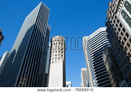 View Of San Francisco Buildings