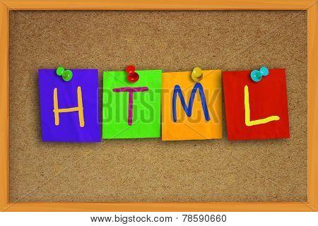 HTML Internet Concept