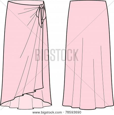 Beach skirt