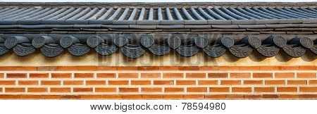 Roof On Wall
