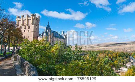 Castle Alcazar, Segovia.