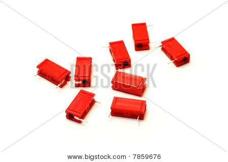 Red Capacitors