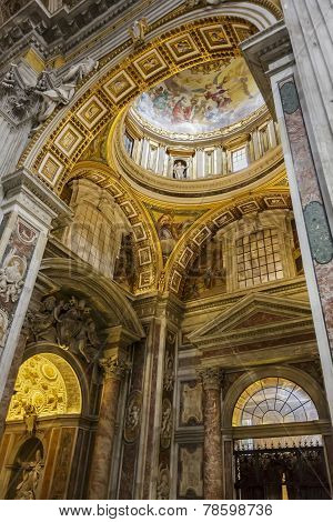 Saint Peter Cathedral In Vatican