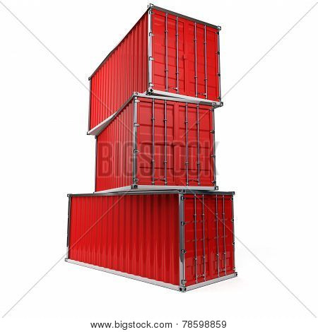 Containers Pile