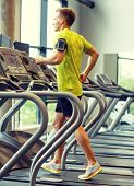 foto of treadmill  - sport - JPG