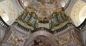 picture of pipe organ  - organ in the church - JPG