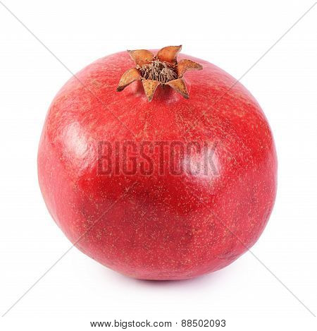 The Fresh Pomegranate As A Background