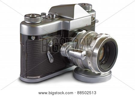 Soviet 35 mm. Film SLR Photo Camera