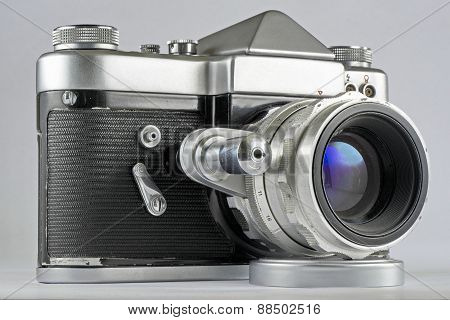 Soviet 35Mm Film Slr Photo Camera
