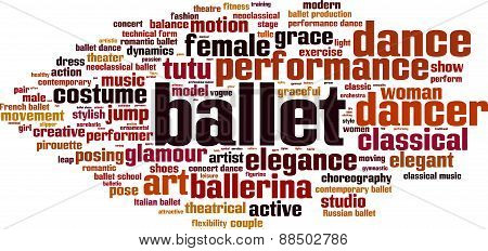 Ballet Word Cloud