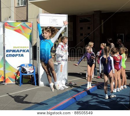 Show Of Gymnastics Sports School