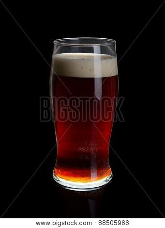 A Glass Of Dark Beer.