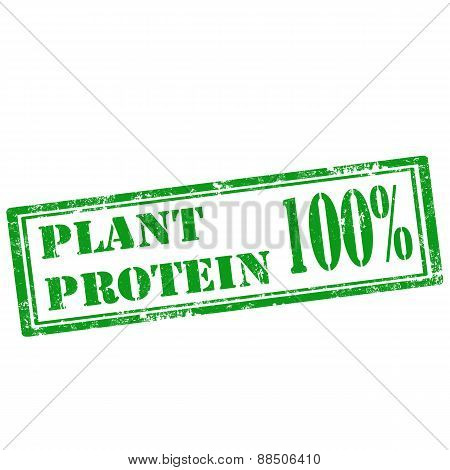 Plant Protein 100% -stamp