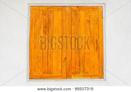 Wood Window Surface Parquet On Wall Texture Background