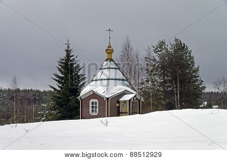 Chapel In Orthodox Monastery