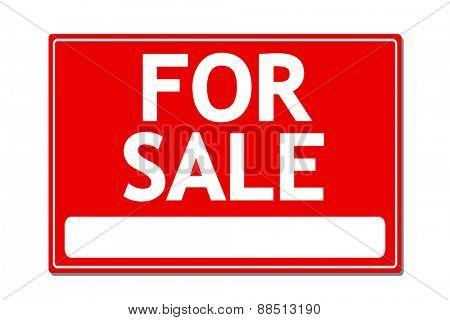 For Sale vector sign illustration