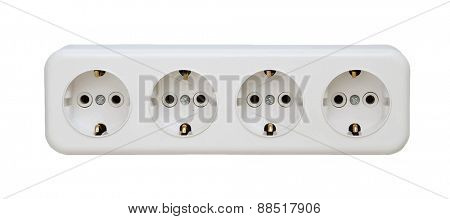 white sockets