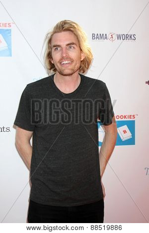LOS ANGELES - FEB 19:  Dallas Clayton at the Milk+Bookies Sixth Annual Story Time Celebration at the Toyota Grand Prix Racecourse on April 19, 2015 in Long Beach, CA