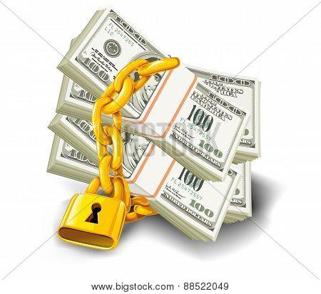Dollars Locked