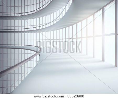 Office building. Vector illustration.