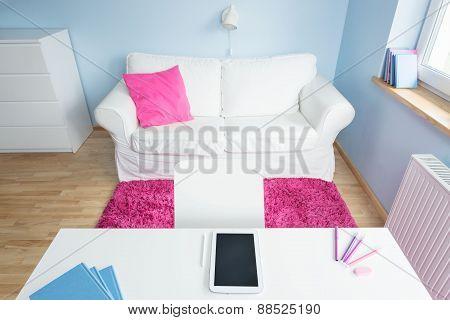 Modern Girl's Room