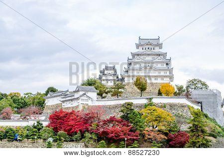 Himeji Castle Located In Himeji, Japan