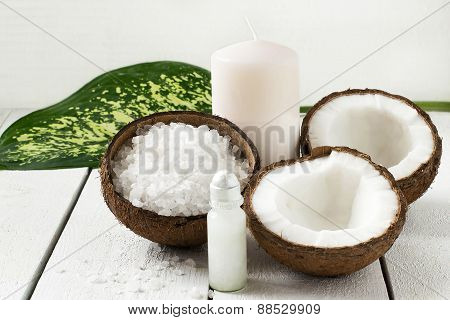 Coconut Spa Concept