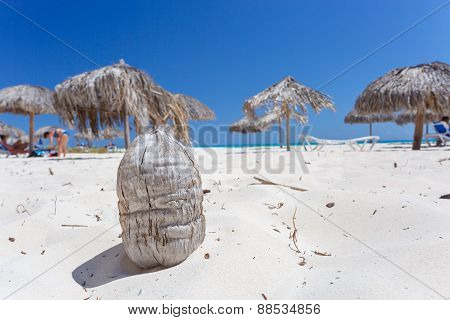 Tropical beach on Cayo Largo