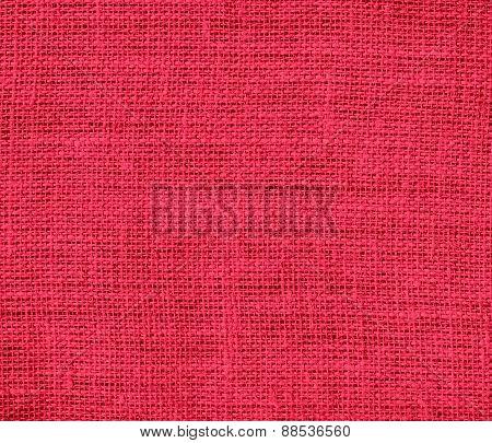 Burlap amaranth texture background