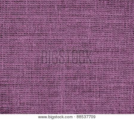 Burlap antique fuchsia texture background