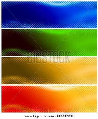 Halftone Web Banner / Header